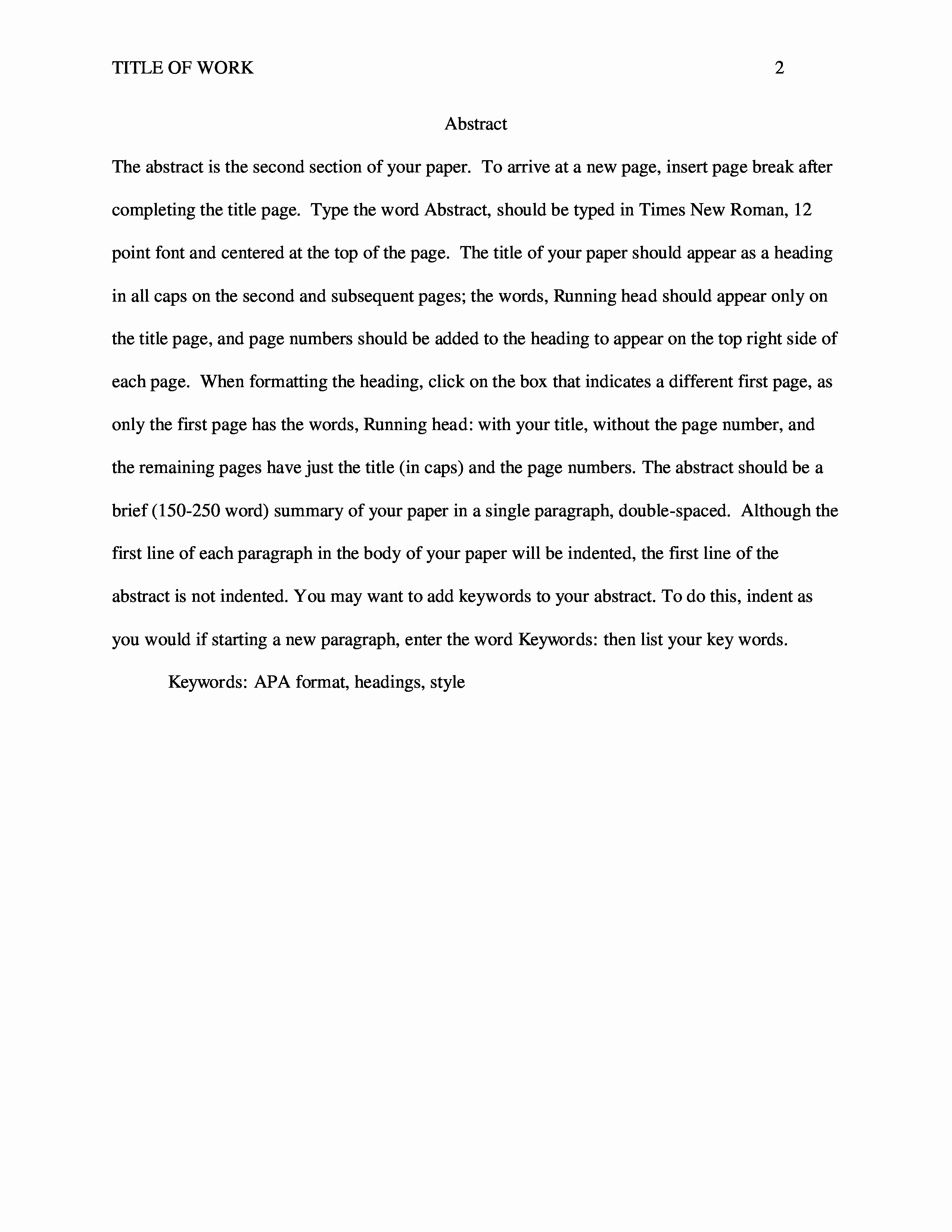 Apa format for A Report Best Of Nursing Paper Example Apa Setup & Template as Nursing