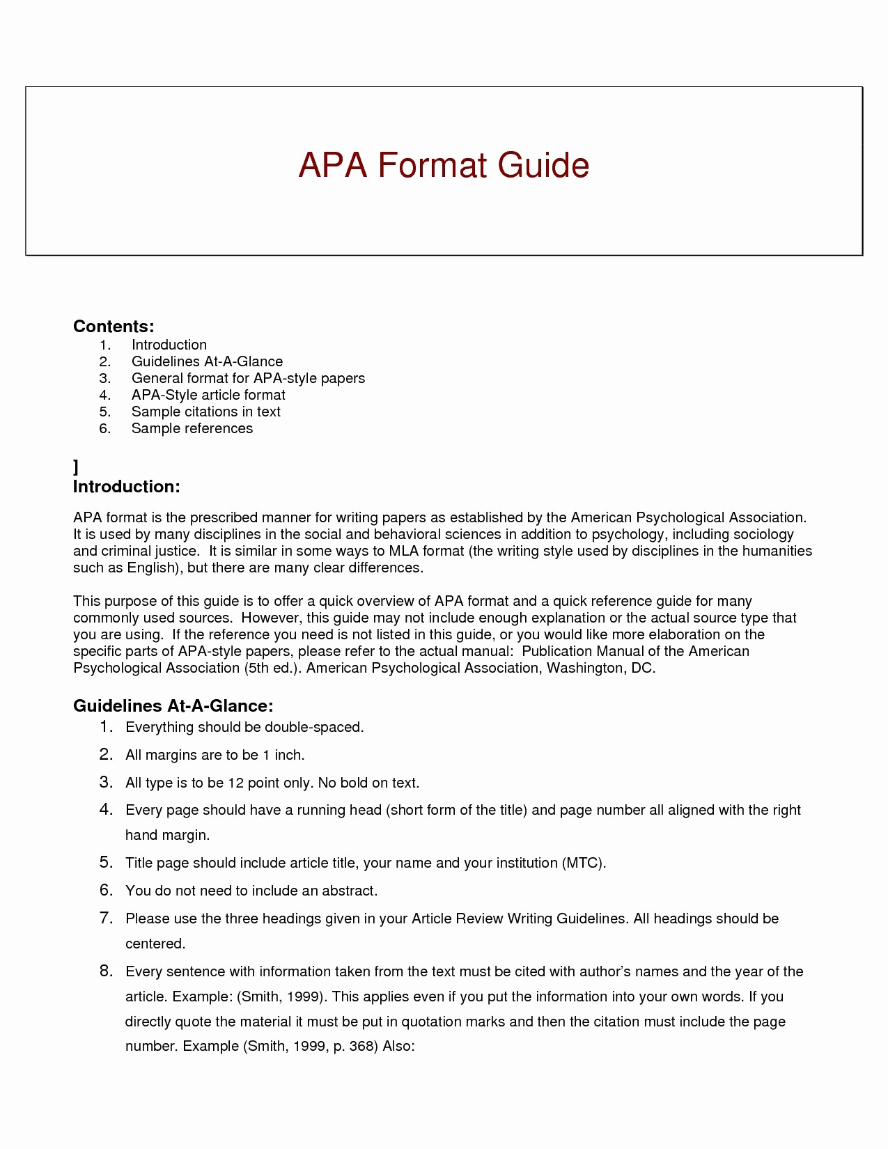 Apa format for A Report Luxury 16 Apa formatting Example