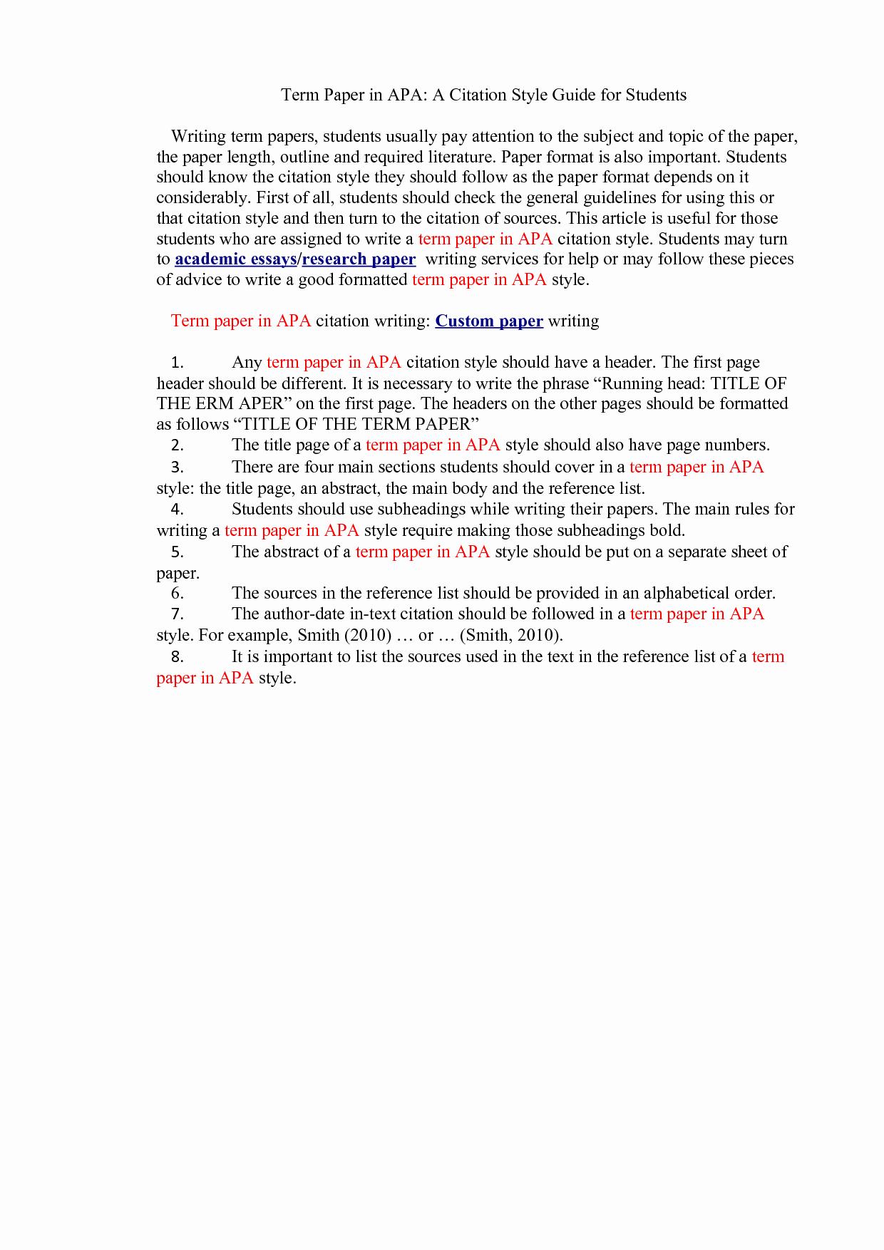 Apa format for A Report Unique Apa Citation format Research Report