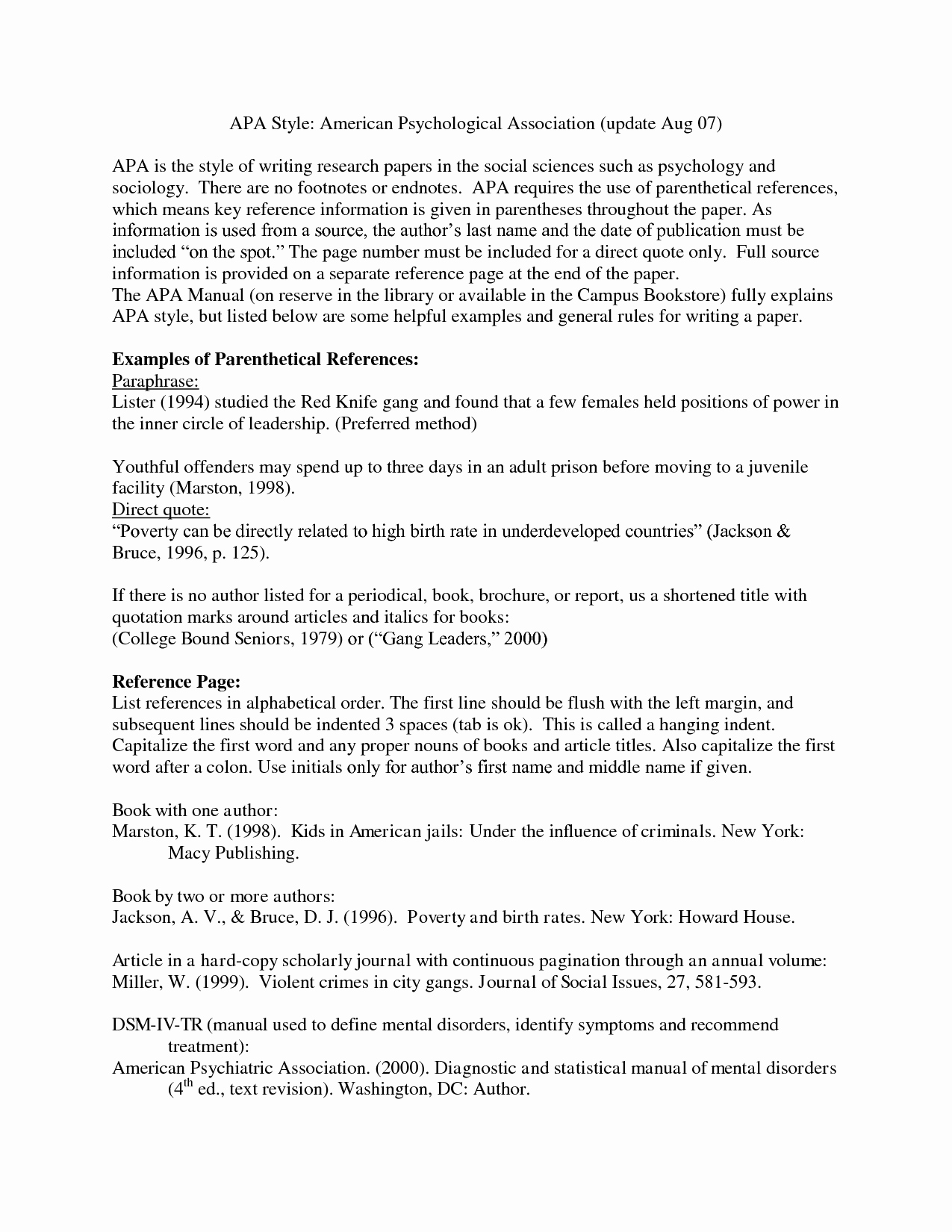 Apa format for A Report Unique Guidelines for Writing the Apa Apa format