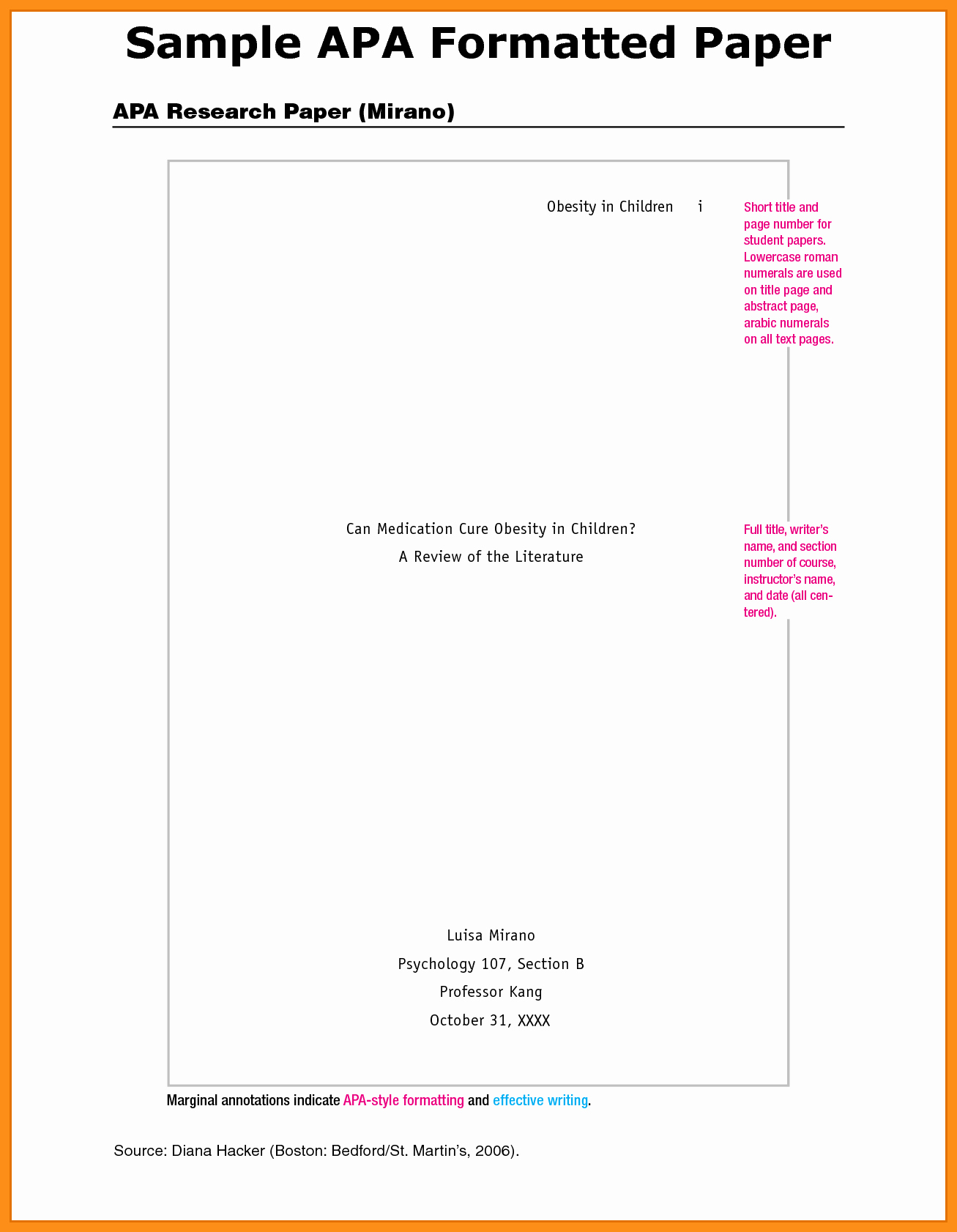 Apa format for Word 2013 Fresh Ideas Collection Apa Style Paper Template Word Apa format