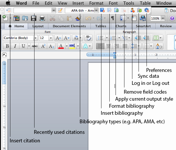 Apa format Microsoft Word Mac Beautiful Write N Cite for Mac New Refworks Collect organize