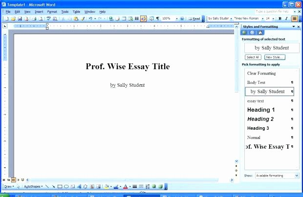 Apa format Microsoft Word Mac Lovely format Template Download for Mac Our Features Paper Free