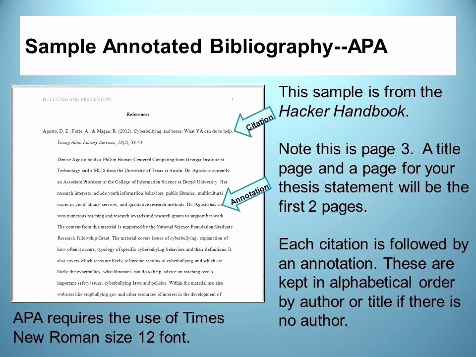 Apa format Open Office Template Beautiful Annotated Bibliography Apa Template Gallery Template
