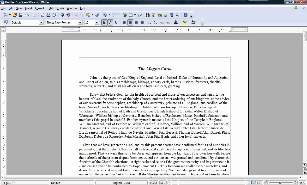 Apa format Open Office Template Luxury Word Processor