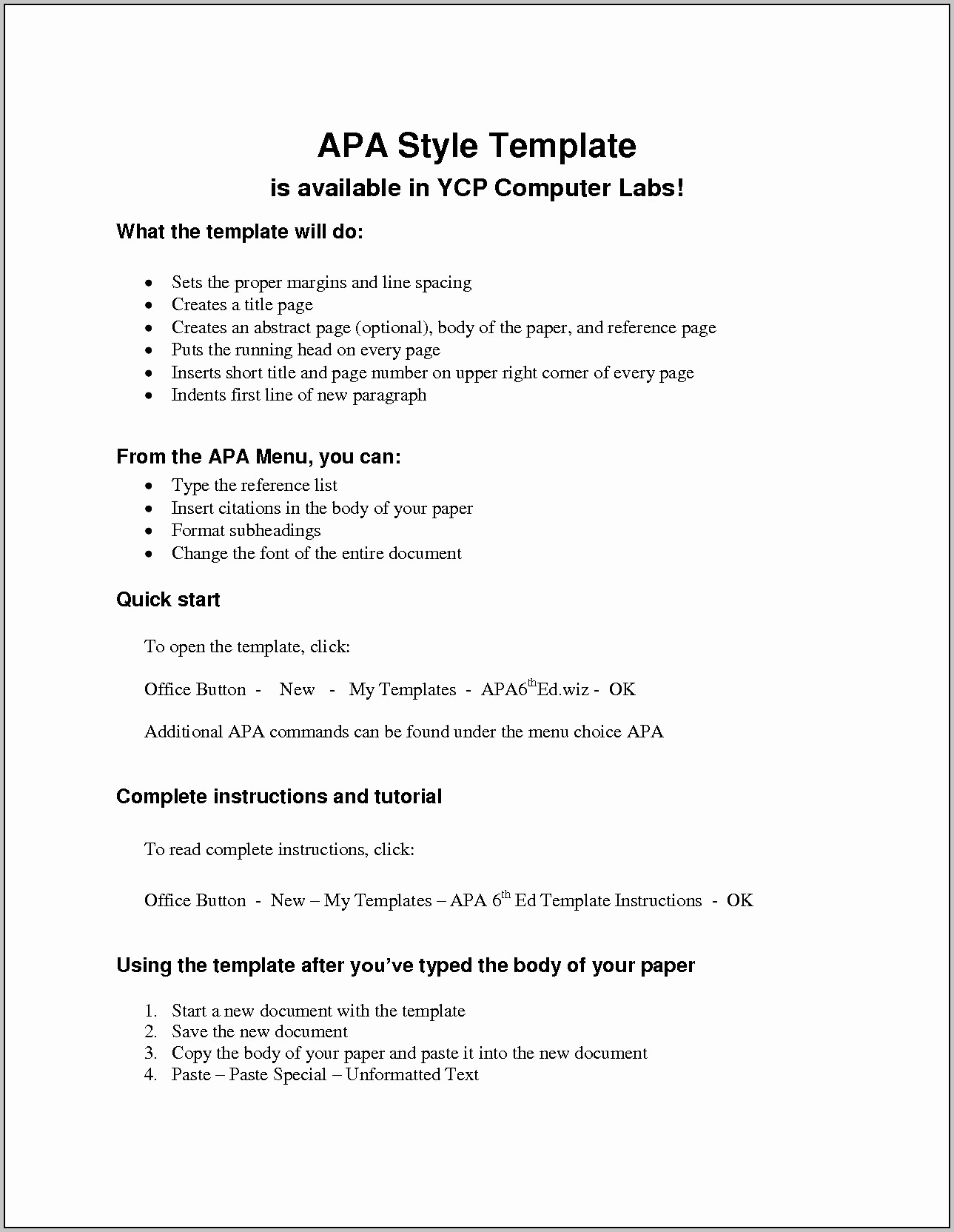 Apa format Paper 6th Edition Luxury Apa 6th Edition Paper Template Template Resume