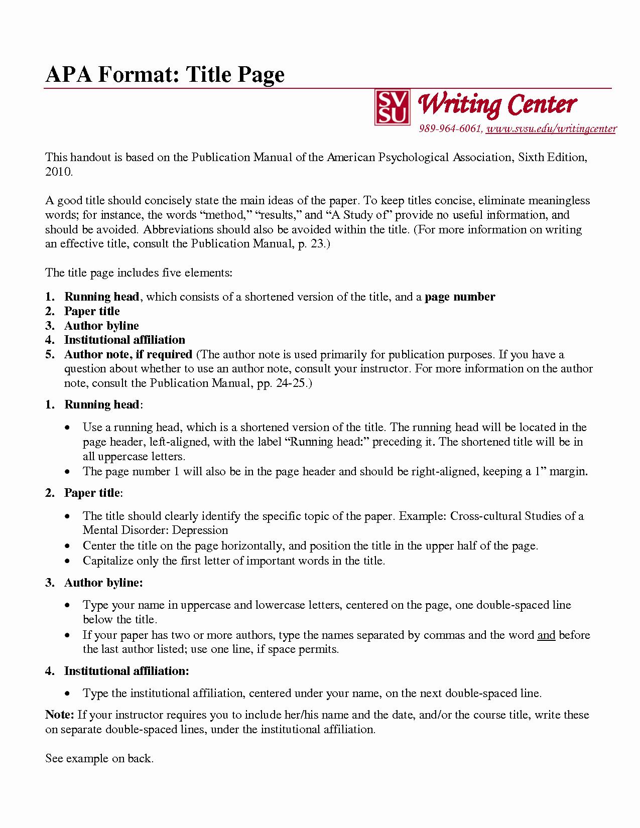 Apa format Sample Paper Doc Elegant 45 Essay In Apa format Example Apa format Essay Template