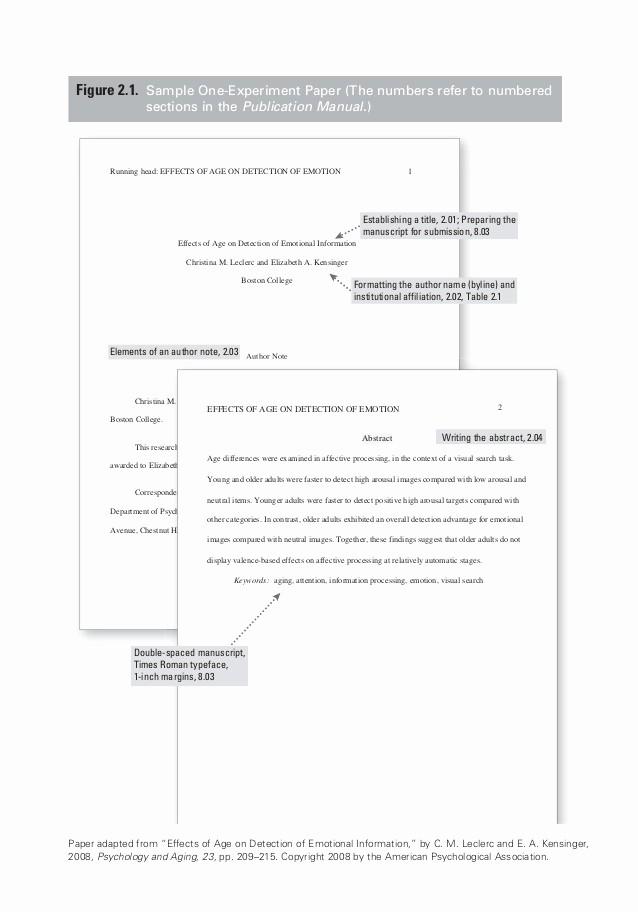 Apa format Sample Paper Doc Luxury Apa Sample Paper Experiment Paper assignment Help