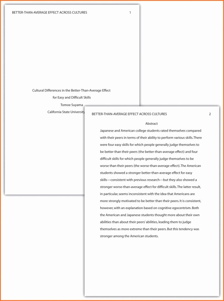 Apa format Sample Paper Doc New form Apa format Template