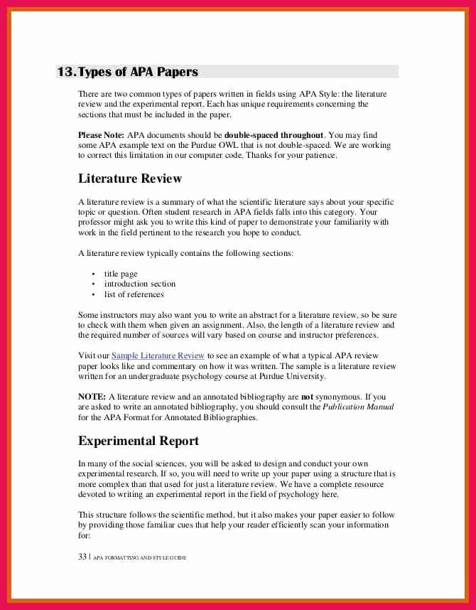Apa format Sample Paper Doc New Selected Student Essays On the Great War Victoria