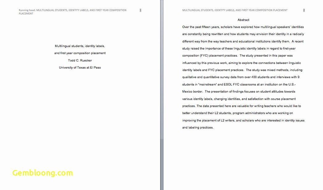 Apa format software Free Download Inspirational Download Lovely Apa format Essay Sample