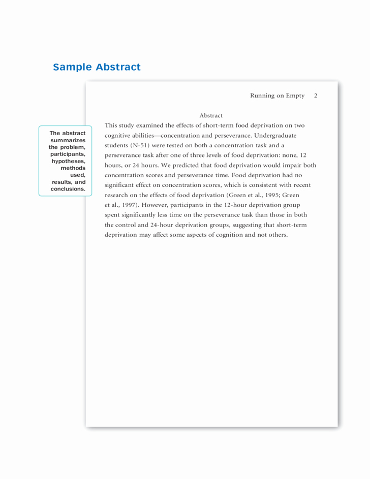 Apa format software Free Download Unique Sample Apa Research Paper Free Download