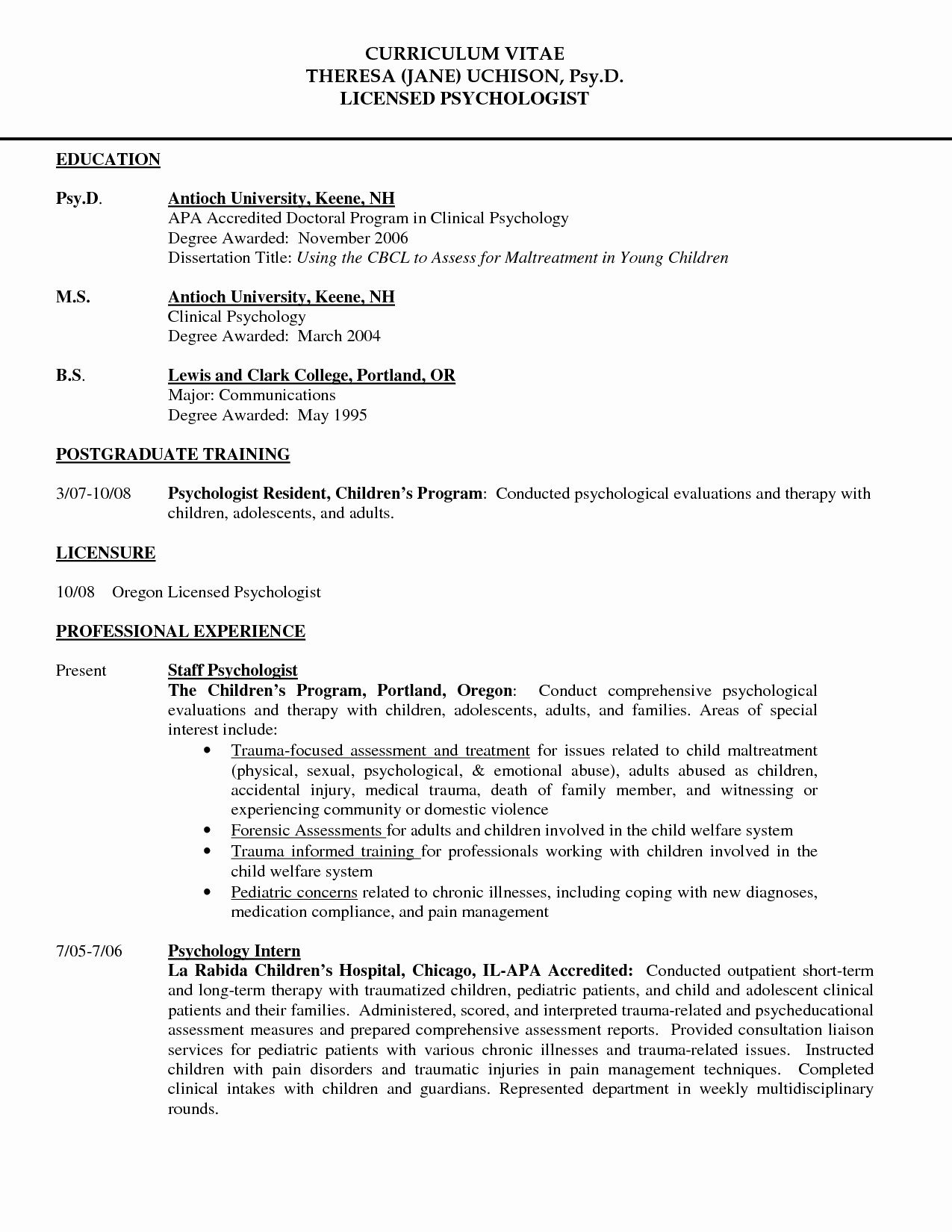Apa format Template Open Office Unique Apa format Resume Cachxoahinhxam