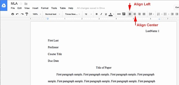 Apa Paper Template Google Docs Awesome Letter format Google Docs