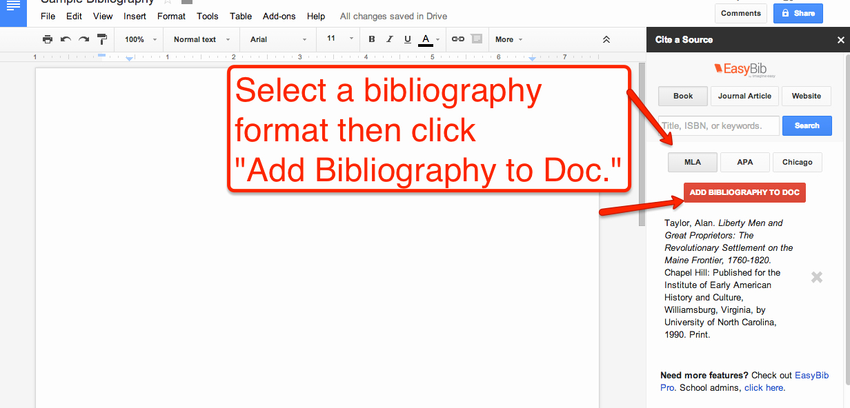 Apa Paper Template Google Docs Beautiful Free Technology for Teachers How to Create A Bibliography