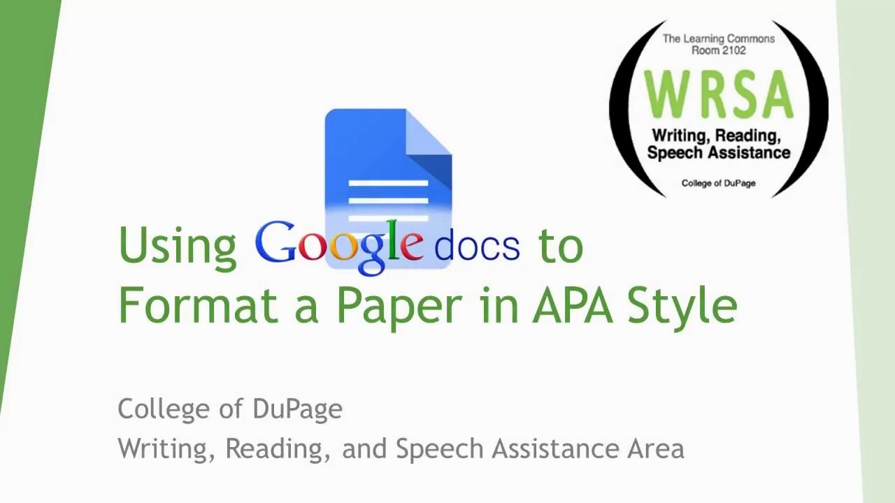 Apa Paper Template Google Docs Fresh Apa format Using Google Docs