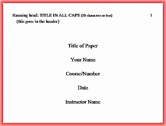 Apa Paper Template Google Docs Fresh format Paper Title Page Example Template Cover Magnificent