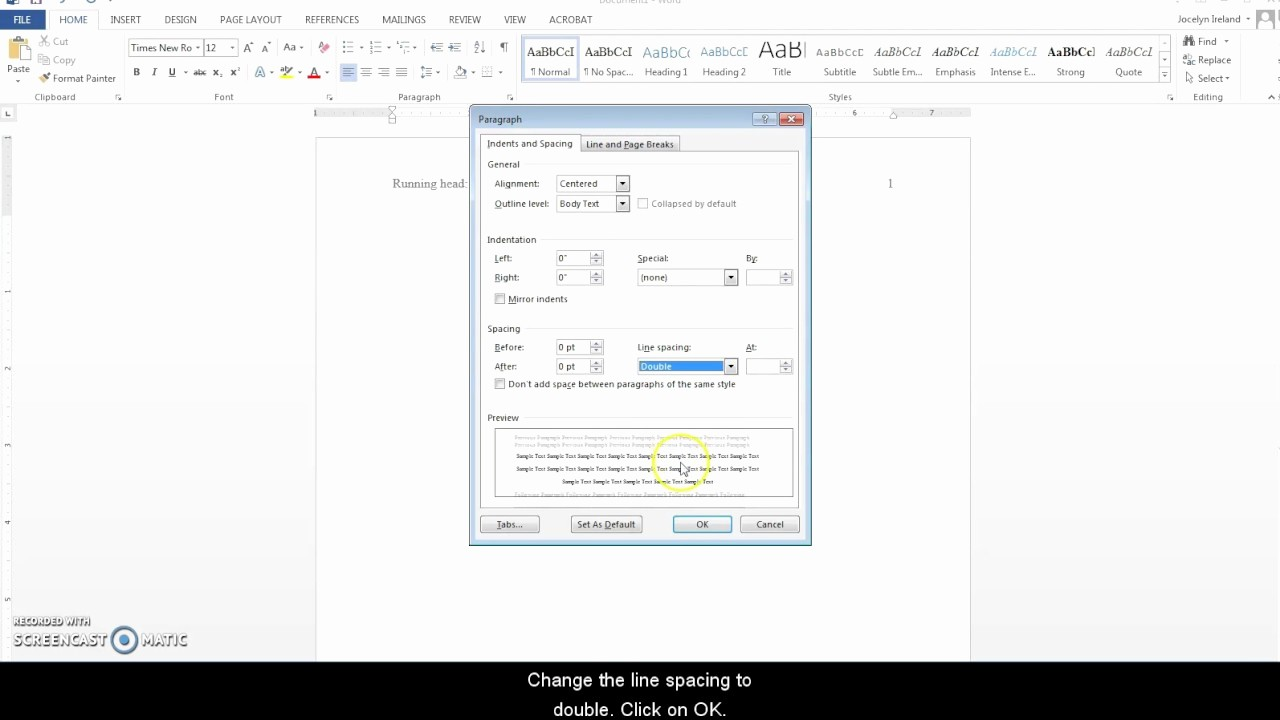 Apa Style Microsoft Word 2013 Best Of Creating A Running Header Apa Style In Word 2013