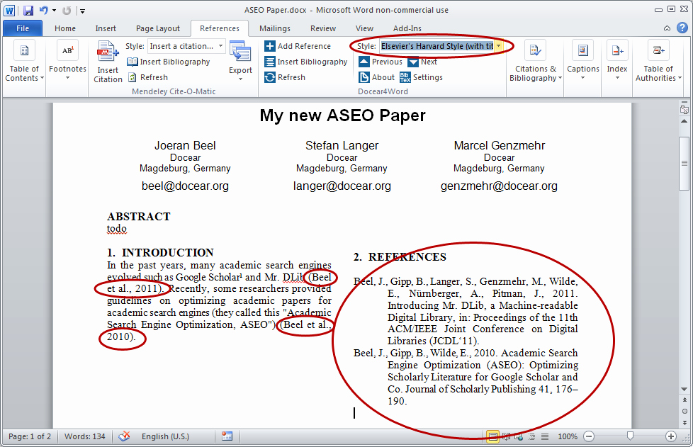 Apa Style Microsoft Word 2013 Best Of Microsoft Word Harvard Citation and Bibliography Styles In