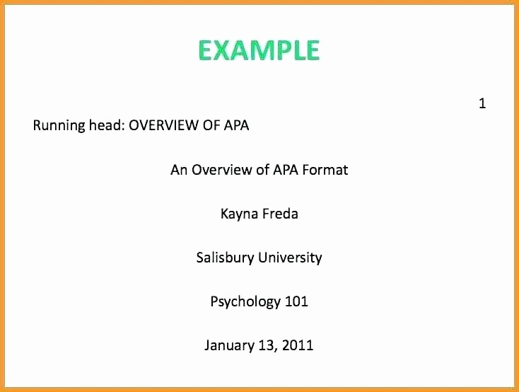 Apa Style Microsoft Word 2013 Lovely Apa format Title Page Word 2013 Cover Template New