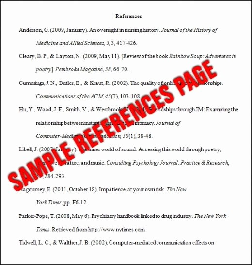 Apa Style Paper 6th Edition Awesome Essay Basics format A References Page In Apa Style