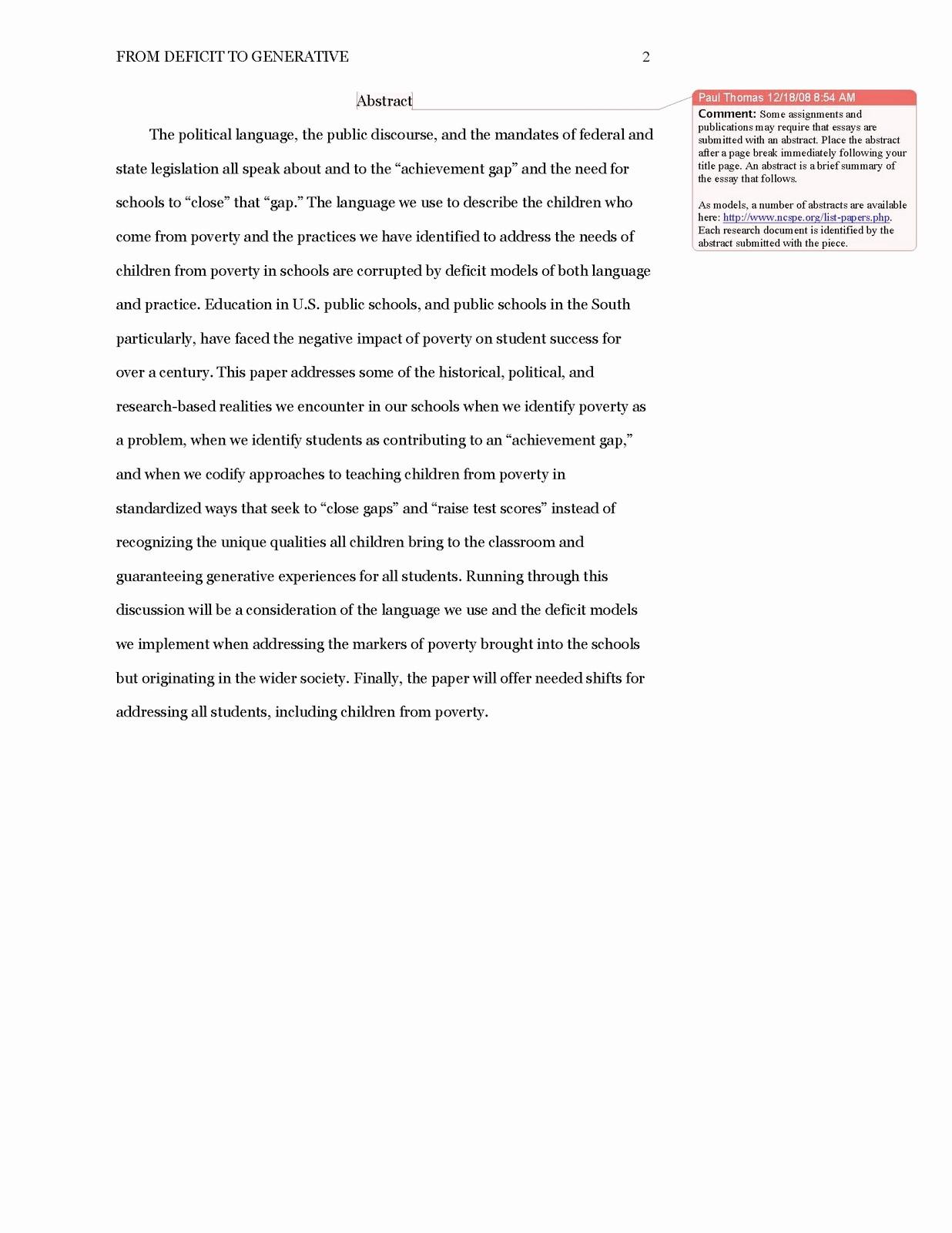 Apa Style Paper 6th Edition Unique Caveprogram Blog