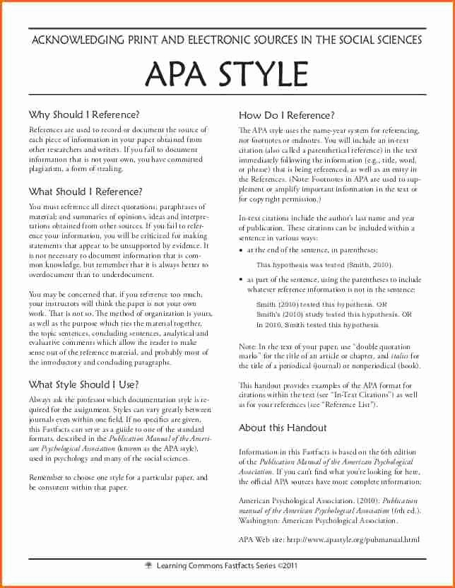 Apa Style Sample Paper Doc Awesome 5 What is An Apa Style Paper Bud Template Letter