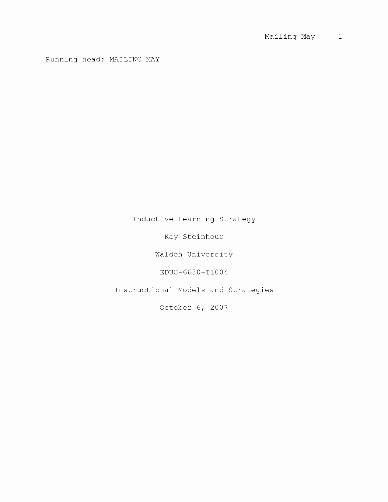 Apa Style Title Page Template Beautiful Best S Of Apa Style Cover Page Apa format Cover