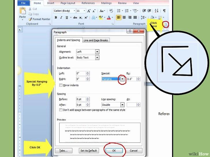 Apa Template for Open Office Awesome 3 Cara Untuk Menulis Bibliografi Dengan format Apa Wikihow