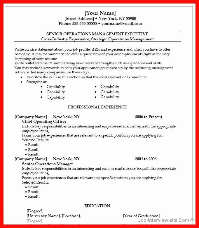 Apa Template for Open Office Beautiful Best Word Resume Template