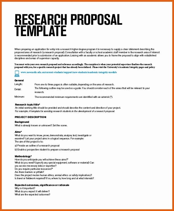 Apa Template for Open Office Beautiful Research Proposal Template