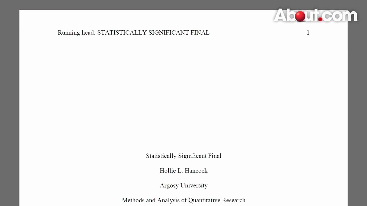 Apa Title Page Example 2016 Beautiful Apa Cover Letter