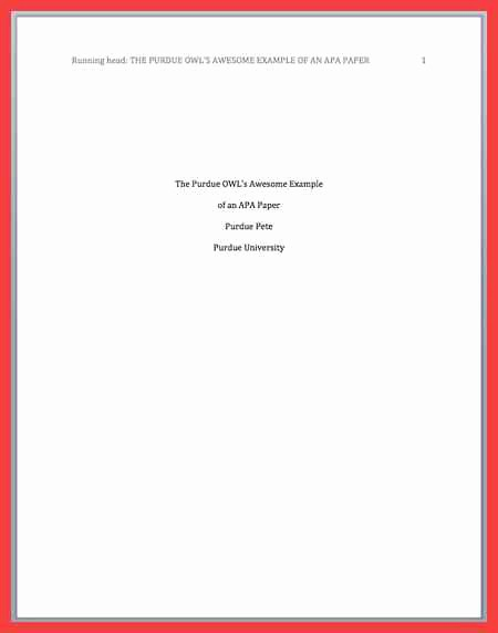 Apa Title Page Example 2016 Luxury Apa Title Page format 2016