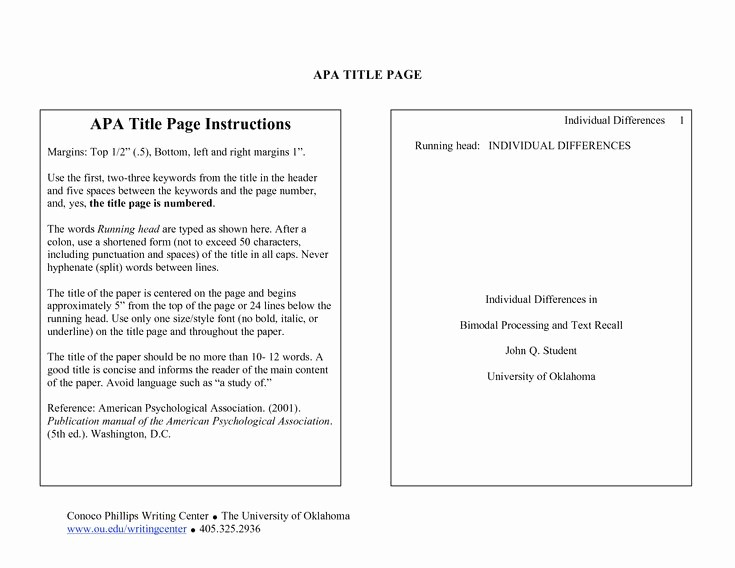 Apa Title Page In Word Best Of the 25 Best Title Page Apa Ideas On Pinterest