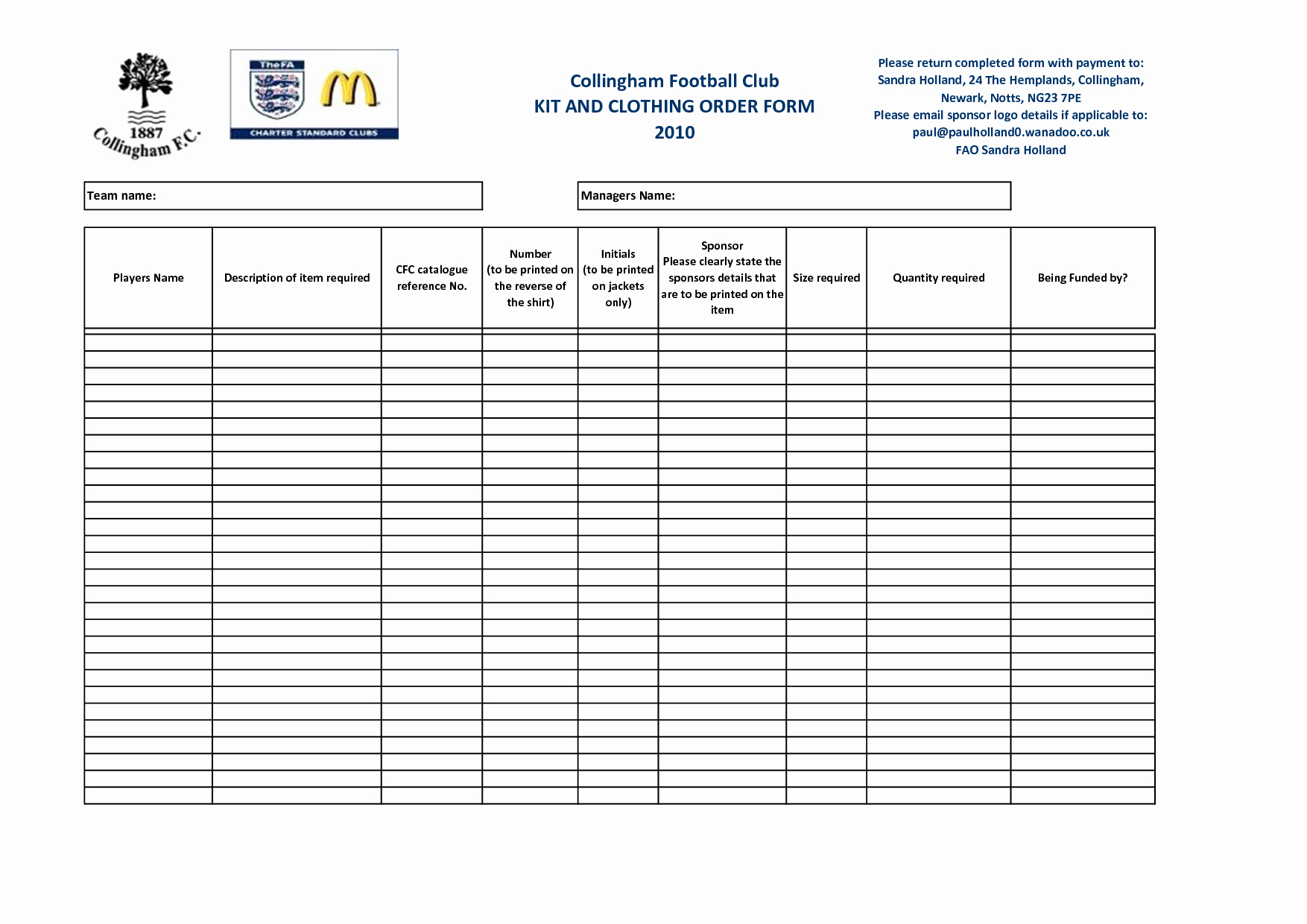 Apparel order form Template Excel Luxury Best S Of Apparel order form Template T Shirt order