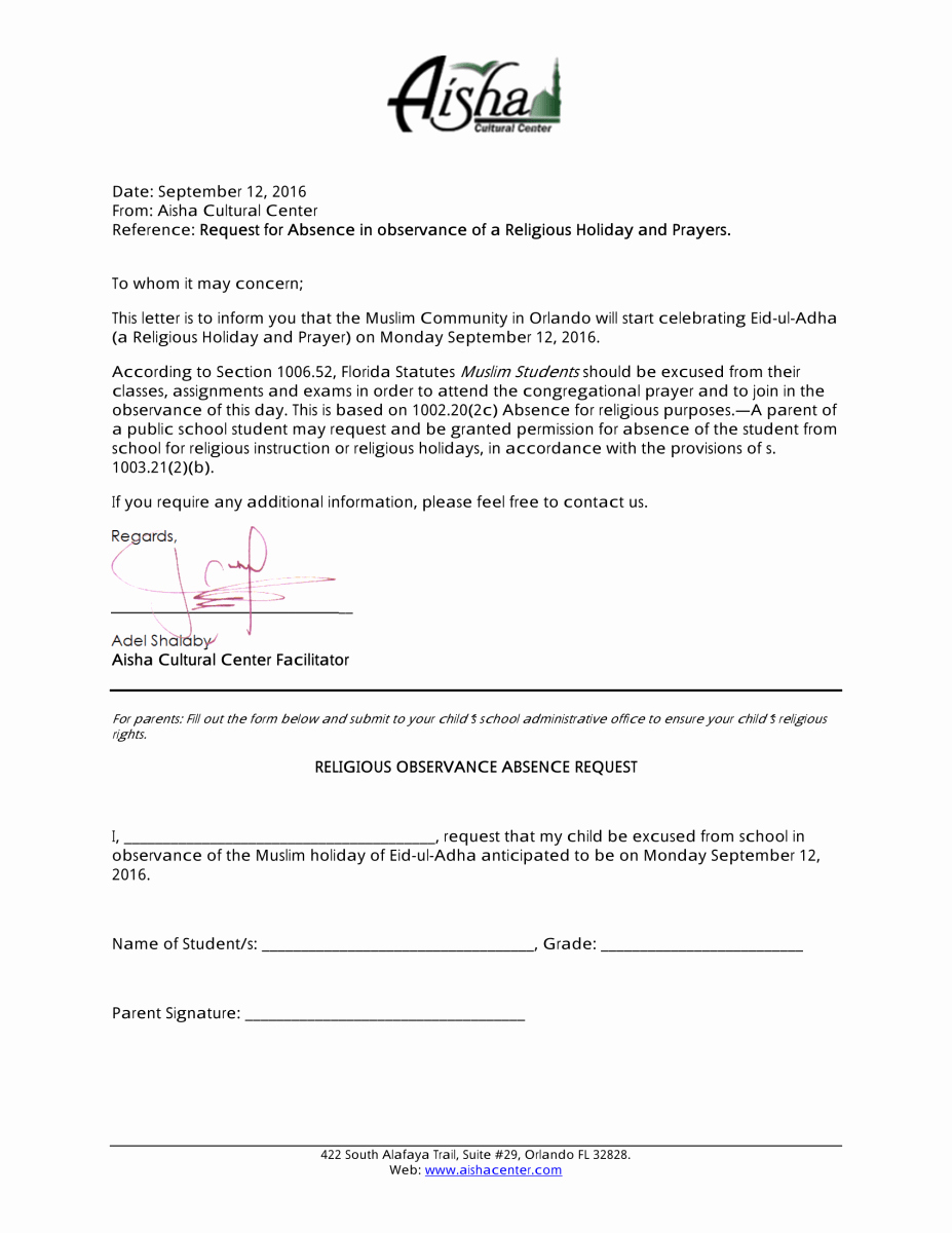 Application for Absent In School Inspirational Vacation Application Letter Nursery School Writing Term