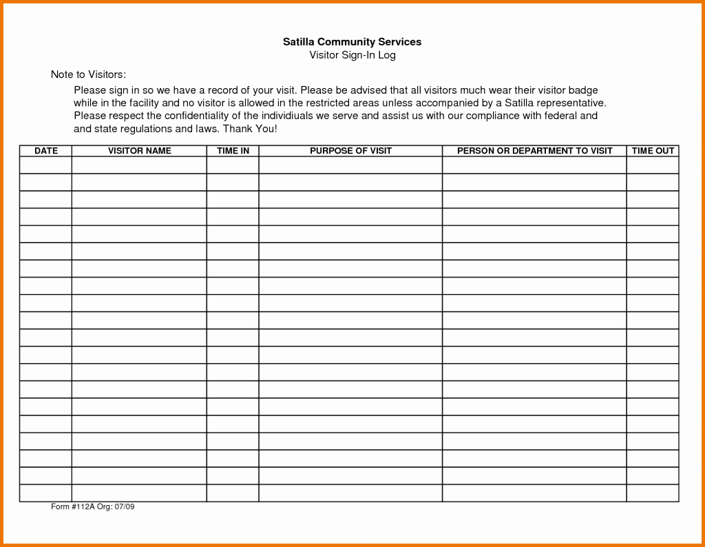 Appointment Sign In Sheet Template Awesome Appointment Sign Up Sheet Template Free Download