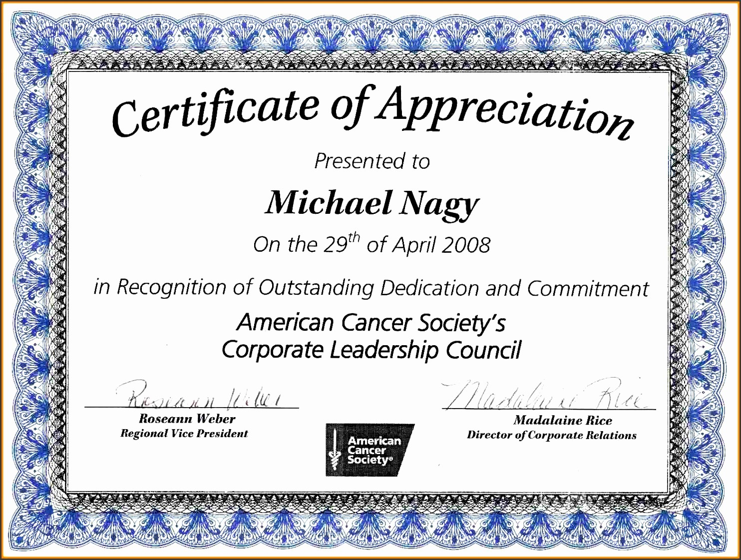 Appreciation Certificate Templates for Word Inspirational 9 Ms Word Certificate Appreciation Template