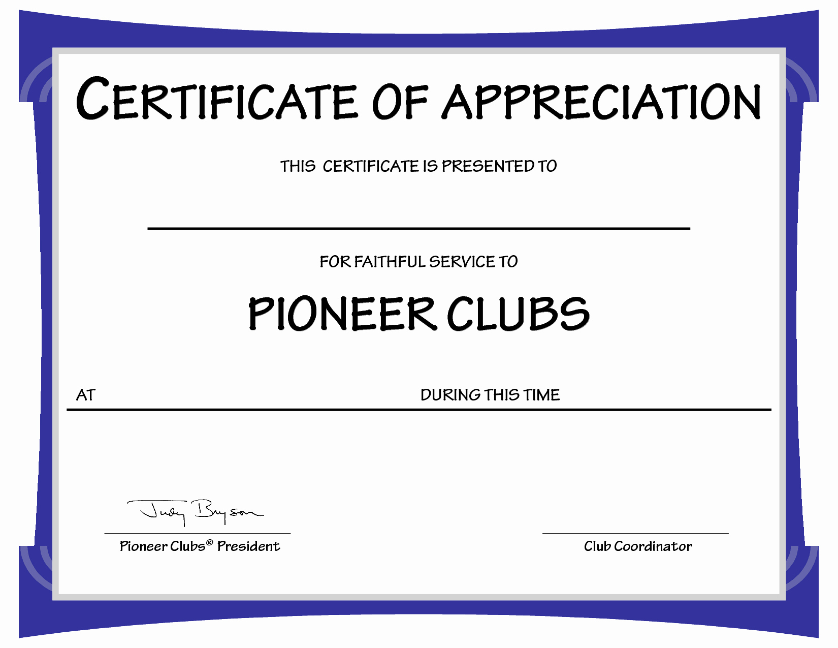 Appreciation Certificate Templates for Word New Free Sample Certificates Of Appreciation