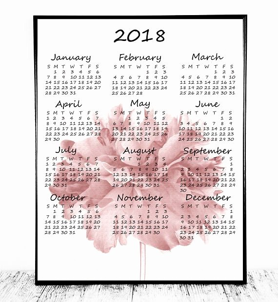 At A Glance 2018 Calendar Beautiful 17 Best Ideas About Wall Calendars On Pinterest