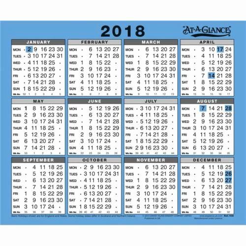 At A Glance 2018 Calendar Lovely at A Glance 2018 Wall Calendar 930 2018
