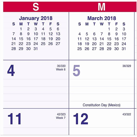 At A Glance 2018 Calendar New at A Glance Pmlf9 28 2018 Move A Page 2 Month View Wall