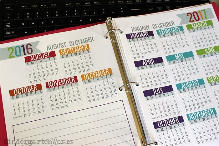 At A Glance Yearly Calendars Fresh Printable Calendar 2016 2017 Calendar Template