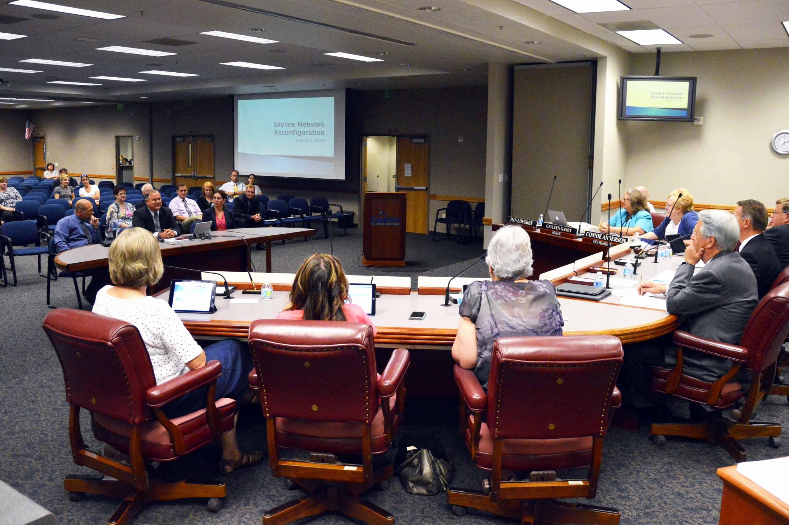 At Meeting or In Meeting Beautiful Board Meeting Report – August 2016
