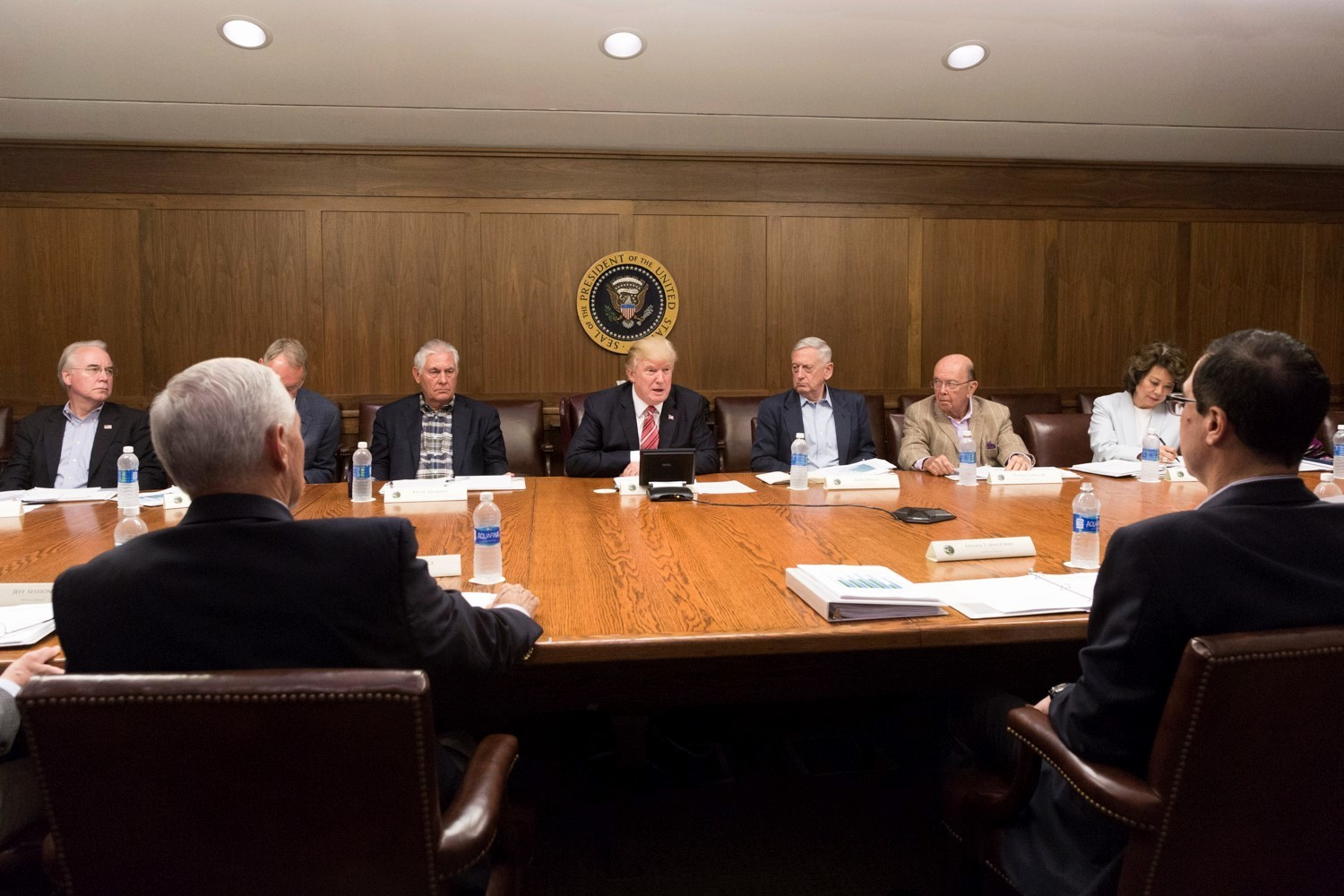 At Meeting or In Meeting Best Of S From President Donald J Trump's Cabinet Meeting at