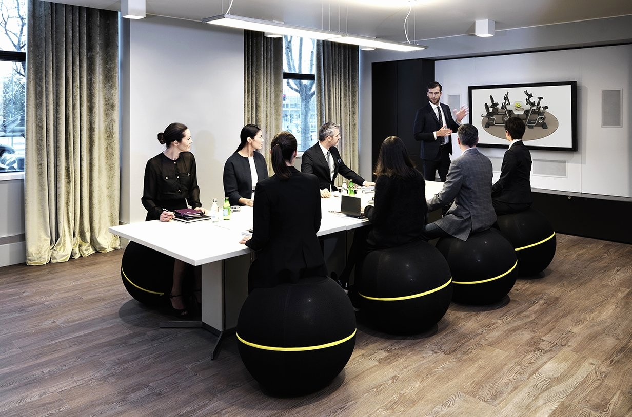 At Meeting or In Meeting Luxury Wellness Upgrade Flexible Fitness Equipment