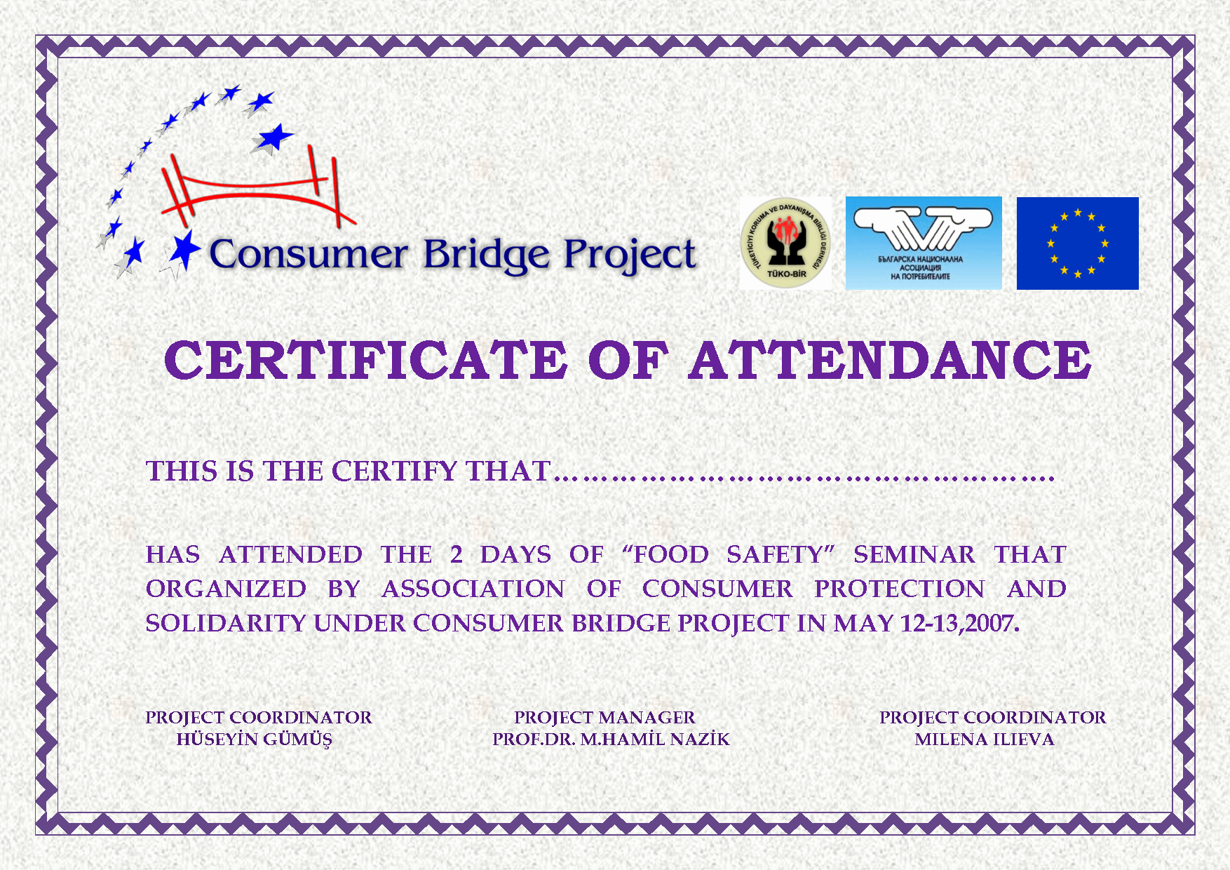 Attendance Certificate format for Employees Awesome attendance Certificates Free Templates Mughals