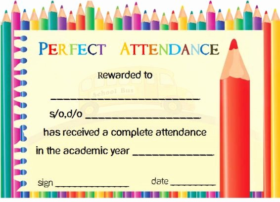 Attendance Certificate format for Employees Beautiful 21 Best Certificate Of attendance Templates for Your