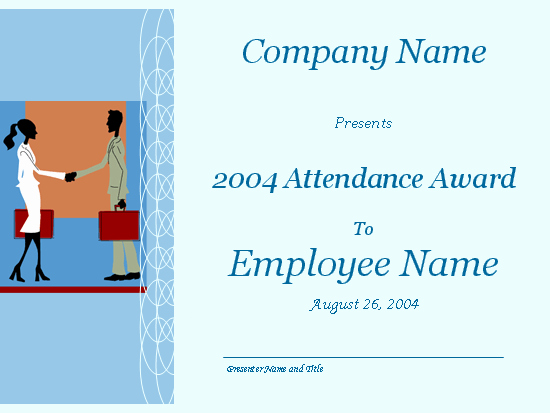 Attendance Certificate format for Employees Beautiful Certificates Fice