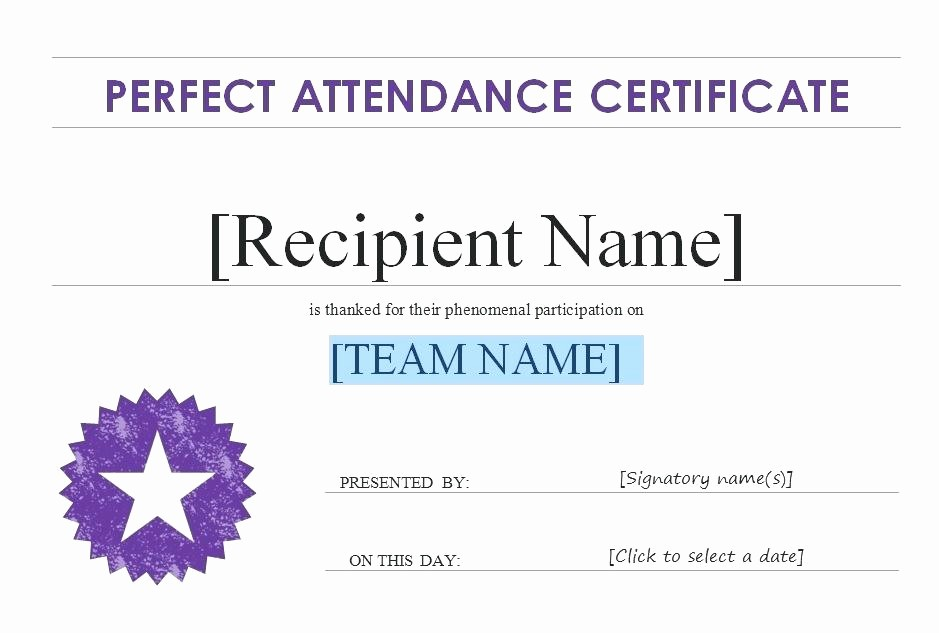 Attendance Certificate format for Employees Best Of Template for Certificate Of attendance – Picks